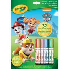 Crayola Coloring and Activity Pad Paw Patrol 32 Pages