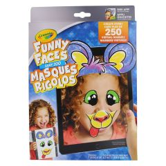 Crayola Zany Zoo Funny Face Interactive Colouring Book