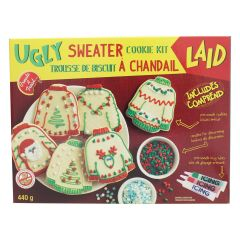 Ugly Sweater Cookie Kit 440g