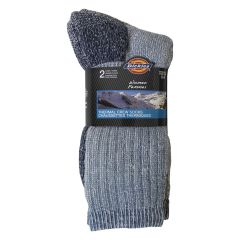 Dickies Womens Thermal Wool Blend Socks 2Pk Size 6-9
