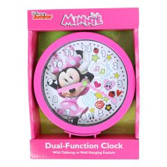 Minnie Mouse 6 Inch Desk/Wall Clock