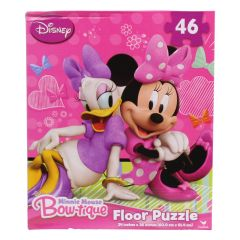 Minnie Mouse Bow-tique 46 Piece  Floor Puzzle