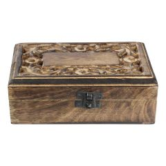 Engraved Wooden Occasional Box