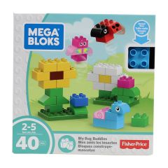 Fisher-Price Mega Bloks My Bug Buddies Building Blocks