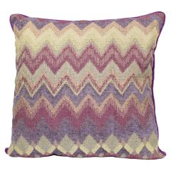 Decorative Cushion Chevron 20in