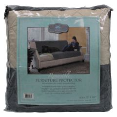 Home Fashion Designs Reversible Sofa Protector Grey