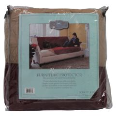 Home Fashion Designs Reversible Sofa Protector Red
