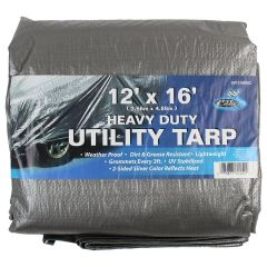 Pit Lane Heavy Duty Utility Tarp 12 x 16 ft