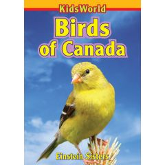 Kids World Birds Of Cananda Book
