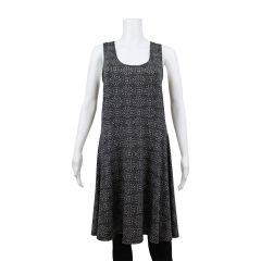 Guilty Plus Size Geometric Skater Dress