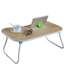 Laptop Desk Tray Metal and Wood