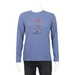 Lucky Brand Ribbed Thermal Crew Neck Long Sleeve T-Shirt