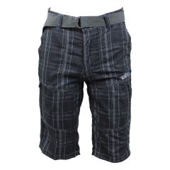 NXT GEN Plaid Shorts Black