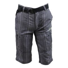 NXT GEN Plaid Shorts Grey
