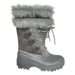 Artic Ridge Girls Mukluk Winter Boot Grey