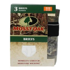Mossy Oak Men's Brief Underwear Medium