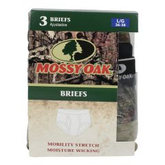 Mossy Oak Men's Brief Underwear 2Xlarge