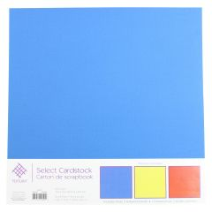 Select Cardstock Textured Paper 3Pk