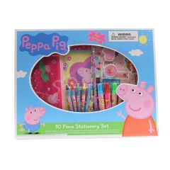 Peppa Pig 30 Piece Stationary Box