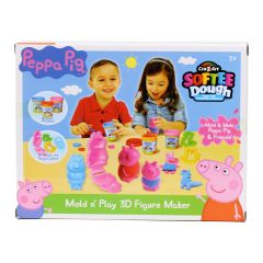 CraZart Softee Dough Mold and Play 3D Figure Maker