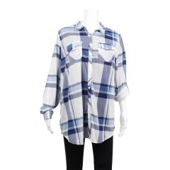 2 Dye 4 Plus Size Plaid Shirt