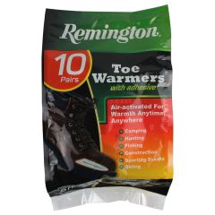 Remington Adhesive Toe Warmers 10Pk