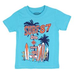 Roadster Est. 1955 Printed T Shirt Blue