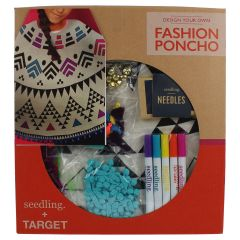Seedling Design Your Own Fashion Poncho Kit