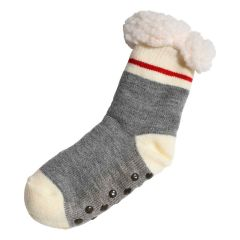 Great Northern Sherpa Lined Sock Grey