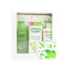 Simple Sensitive Skin Experts Gift Set With Cosmetic Bag