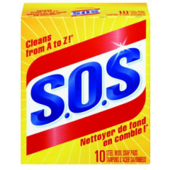 SOS Soap pads 10 pack
