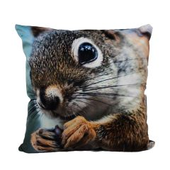 Velvet Cushion Squirrel