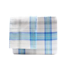 Sunbeam Blue Flannel Sheet Set Queen