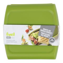 Trudeau Maison Fuel Sandwich Box Green