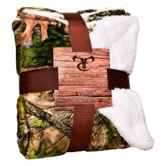 True Timber Sherpa Throw 50 x 60 Inch