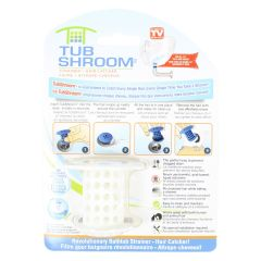 Tub Shroom Hair Catching Drain Strainer