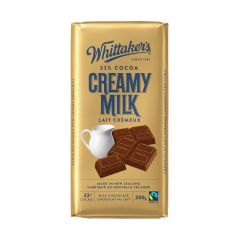 Whittakers Creamy Milk Chocolate 200g