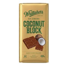 Whittakers Coconut Block Chocolate 200g