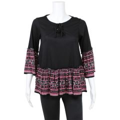 Bohemian Bell Sleeve Top