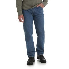 Rustler by Wrangler Mens Regular Fit Stonewash Jean Long