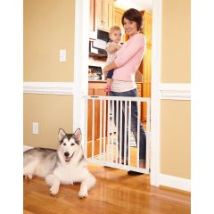 Storkcraft Easy Walk-Thru Safety Gate White
