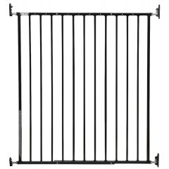 Storkcraft Easy Walk-Thru Tall Metal Safety Gate Black