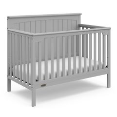 Graco Ellis 4 In 1 Convertible Crib Pebble Gray