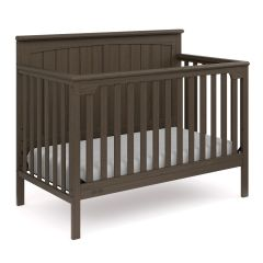 Graco Ellis 4 In 1 Convertible Crib Slate Gray