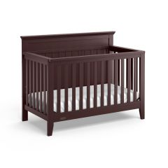 Graco Georgia 4 In 1 Convertible Crib Espresso