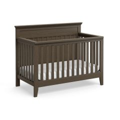 Graco Georgia 4 In 1 Convertible Crib Slate Gray