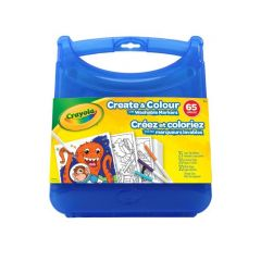 Crayola Create & Colour Super Tips Washable Marker Kit