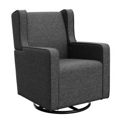Graco Remi Upholstered Swivel Glider Night Sky