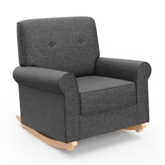 Graco Harper Tufted Convertible Rocker Night Sky