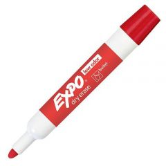 MARKER, EXPO2 LOW ODOR BLLT*RD